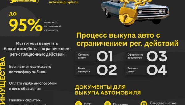 Выкуп авто с ограничением регистрационных действий